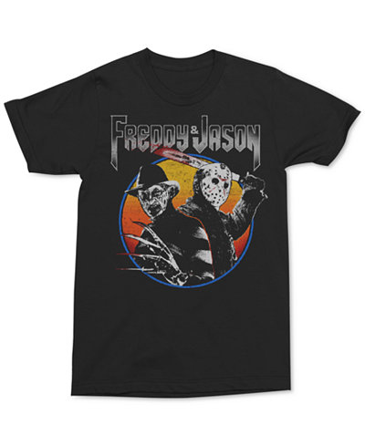 Changes Men's Freddy vs Jason Graphic T-Shirt