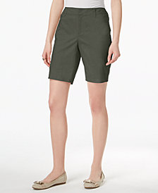 Charter Club Twill Shorts, Created for Macy's