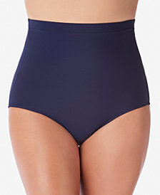 Swim Solutions Ultra High-Waist Swim Bottoms