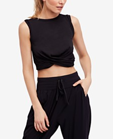 Free People Movement Undertow Cropped Tank Top