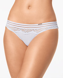 Calvin Klein Perfectly Fit Sheer Lace Bikini QF4373