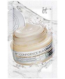 Receive a FREE It Cosmetics Confidence in a Cream Packette with any CC Cream Purchase!
