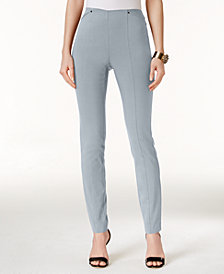 Alfani Petite Pull-On Skinny Ankle Pants, Created for Macy's