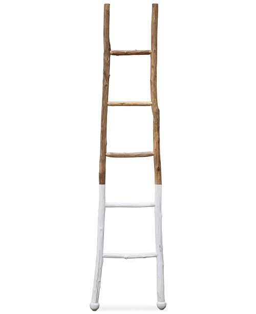 3R Studio  Decorative Wood Ladder Décor
