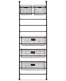 3R Studio Metal Wall Shelf & Storage Bins