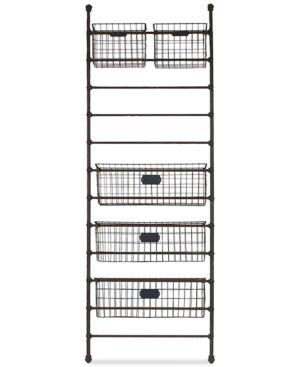 3R Studio Metal Wall Shelf & Storage Bins 6203461