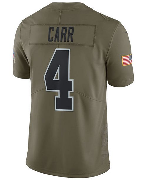 ... Nike Men s Derek Carr Oakland Raiders Salute To Service Jersey ... db138bd0e
