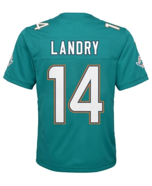 image of Nike Jarvis Landry Miami Dolphins Limited Team Jersey, Big Boys (8-20)