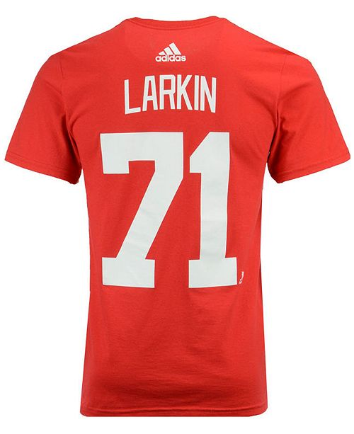the best attitude 19dff 7b07b Men's Dylan Larkin Detroit Red Wings Silver Player T-Shirt
