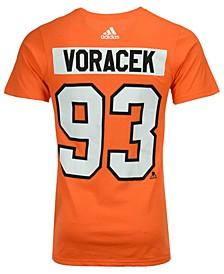 Men's Jakub Voracek Philadelphia Flyers Silver Player T-Shirt