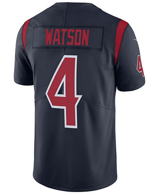 new product c2852 d5394 Nike Men's DeShaun Watson Houston Texans Limited Color Rush Jersey &  Reviews - Sports Fan Shop By Lids - Men - Macy's