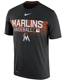 Nike Men's Miami Marlins Authentic Legend Team Issue T-Shirt