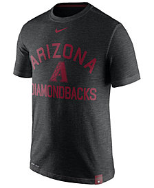 Nike Men's Arizona Diamondbacks Dri-Fit Slub Arch T-Shirt