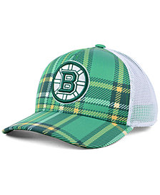 3ad2a20b adidas Boston Bruins St. Patrick's Day Adjustable Cap