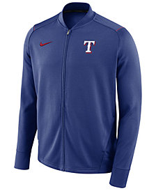 Nike Men's Texas Rangers Dry Knit Track Jacket