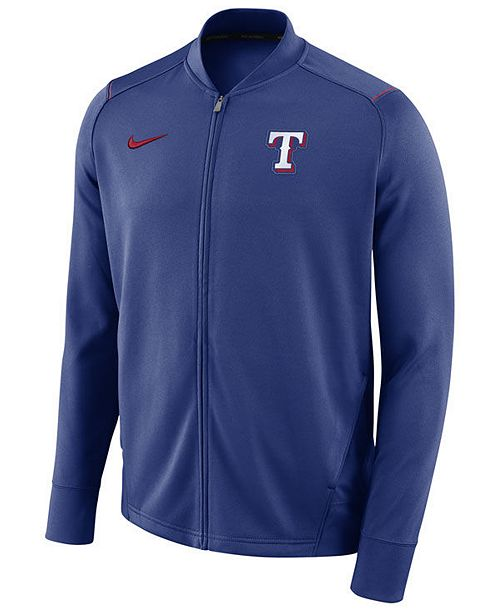 Nike Men's Texas Rangers Dry Knit Track Jacket & Reviews