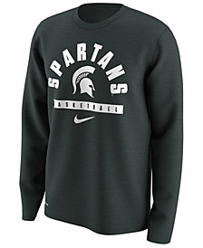Nike Men's Michigan State Spartans Basketball Legend Long Sleeve T-Shirt