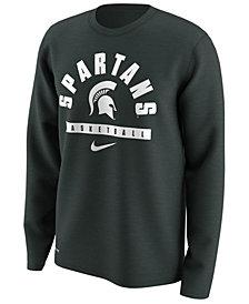 Nike Men's Michigan State Spartans Basketball Legend Long Sleeve T-Shirt
