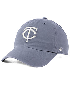 '47 Brand Minnesota Twins Dark Gray CLEAN UP Cap