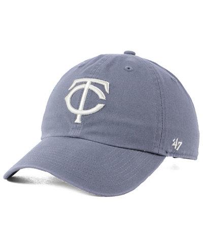 '47 Brand Minnesota Twins Dark Gray CLEAN UP Cap