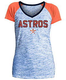 5th & Ocean Women's Houston Astros Space Dye Stone T-Shirt
