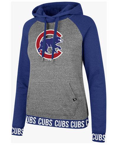 '47 Brand Women's Chicago Cubs Encore Revolve Hoodie