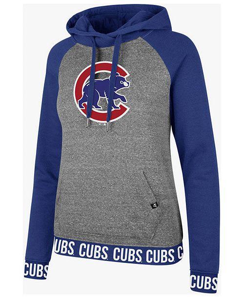 47 Brand Women s Chicago Cubs Encore Revolve Hoodie - Sports Fan ... 8b98655871