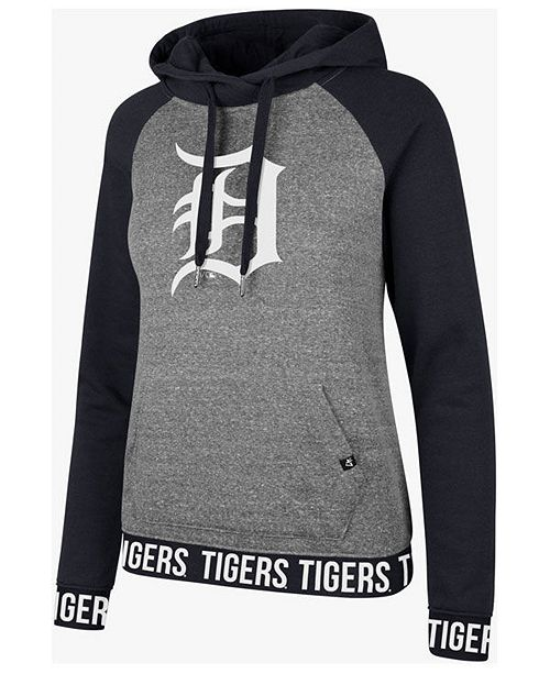 buy popular 49e59 7ab68 ...  47 Brand Women s Detroit Tigers Encore Revolve Hoodie    ...