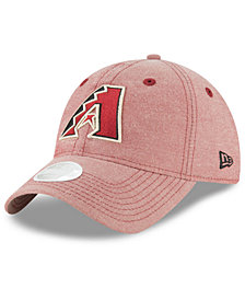 New Era Arizona Diamondbacks Team Linen 9TWENTY Strapback Cap