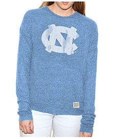 Retro Brand Women's North Carolina Tar Heels Lightweight Haachi Crew Sweatshirt