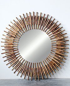 Round Wood Rolling Pins Mirror