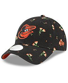 New Era Baltimore Orioles Blossom 9TWENTY Strapback Cap