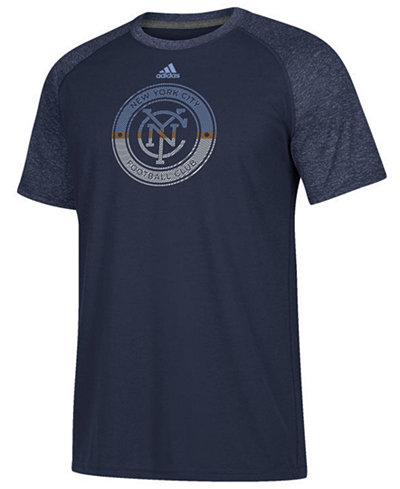 adidas Men's New York City FC Redirection Logo T-Shirt