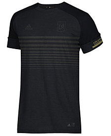 adidas Men's Los Angeles Football Club Black Out T-Shirt