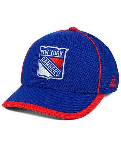 adidas New York Rangers Clipper Adjustable Cap