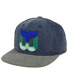 CCM Hartford Whalers 2Tone Snapback Cap
