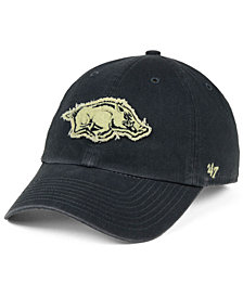 '47 Brand Arkansas Razorbacks Double Out CLEAN UP Cap