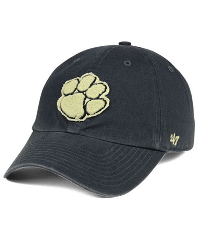 '47 Brand Clemson Tigers Double Out CLEAN UP Cap
