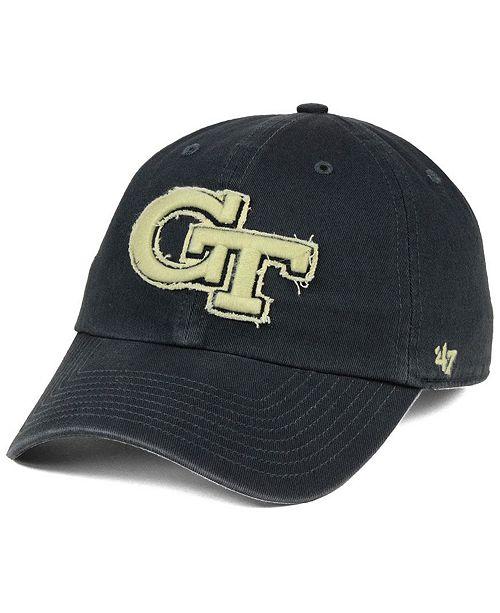 Georgia-Tech Double Out CLEAN UP Cap