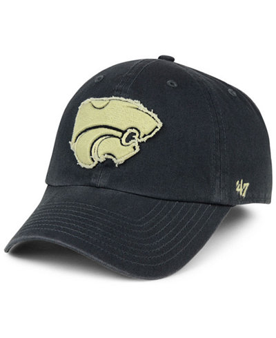 '47 Brand Kansas State Wildcats Double Out CLEAN UP Cap