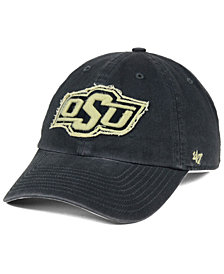 '47 Brand Oklahoma State Cowboys Double Out CLEAN UP Cap
