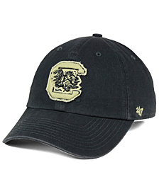 '47 Brand South Carolina Gamecocks Double Out CLEAN UP Cap