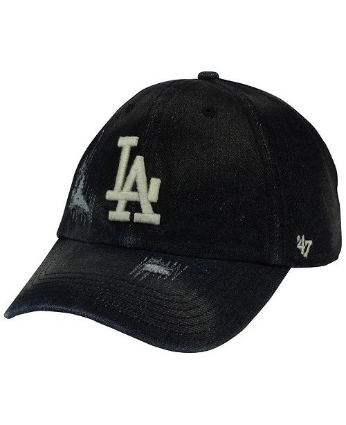 usa los angeles dodgers 47 mlb dark horse 47 clean up cap