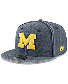 New Era Michigan Wolverines Rugged Canvas Snapback Cap