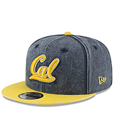 New Era California Golden Bears Rugged Canvas Snapback Cap