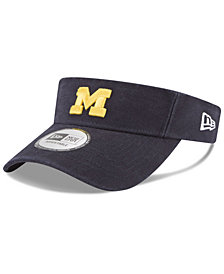 New Era Michigan Wolverines Dugout Redux Visor