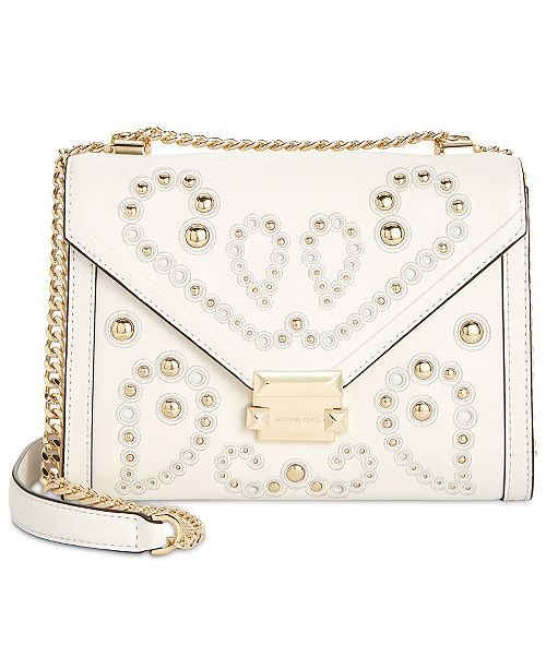 7ab338c7ed82 Michael Kors Whitney Studded Shoulder Bag   Reviews - Handbags ...
