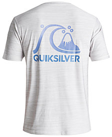 Quiksilver Men's Heritage Surf Heathered Rash Guard