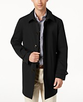 312d523de Lauren Ralph Lauren Men s Stanza Classic-Fit Raincoat