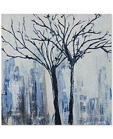 INK+IVY Urban Trees Embellished Canvas Print